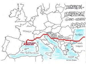 BABA Map Europe