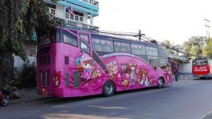 Autobusos coloristes