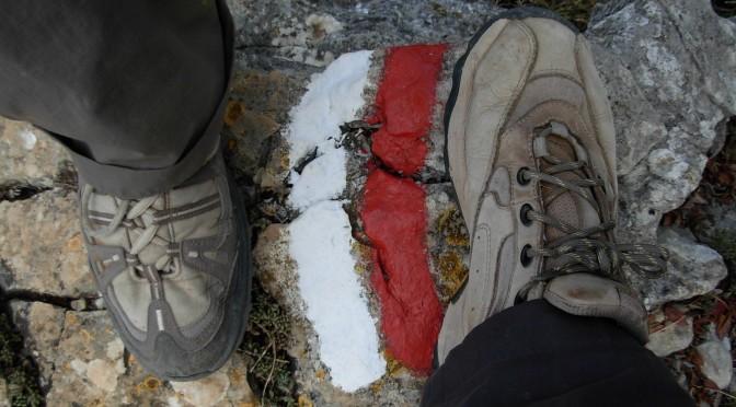 Catalunya GR92 footsteps