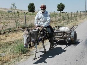Passejant entre Hisor i Tursunzoda