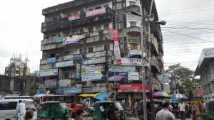 Chittagong, edifici