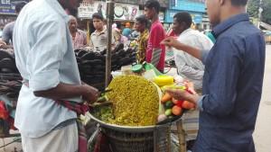 Comilla, menjar de carrer