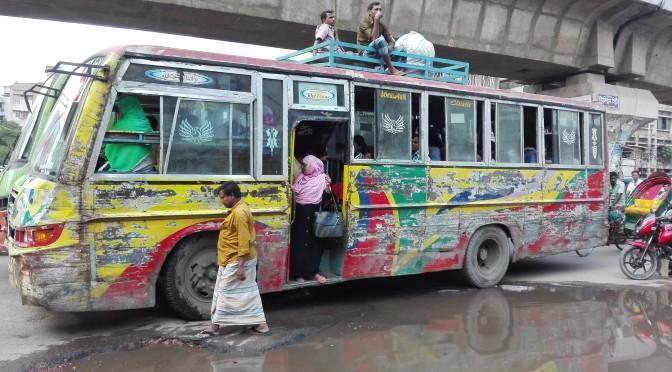 Els autobusos a Bangladesh