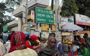 Benapole, aquí acabem Bangladesh