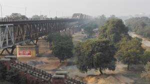 El començament del pont
