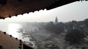 Benarès i alguns ghats des del pont