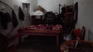 Aquesta és la nostra habitació avui. Gràcies per permetre'ns dormir aquí!