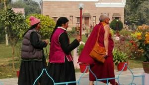 Budistes d'arreu s'atansen per retre homenatge als seus orígens religiosos