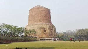 Sarnath, estupa Dhamekh