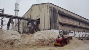 Fàbrica de sucre, gestió de les restes de les canyes un cop premsades