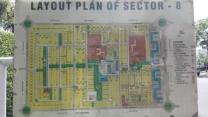 Mapa sector 8
