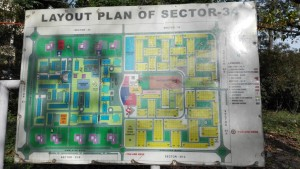 Mapa sector 34