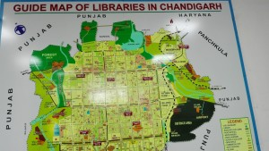 Mapa general de Chandigarh