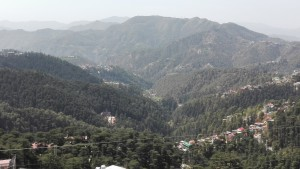 Vistes generals des de Shimla