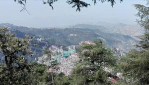 Shimla des de les alçades