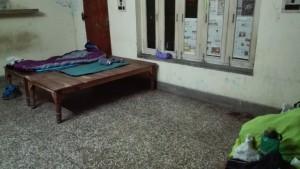 Una habitació molt bàsica però cedida només per nosaltres