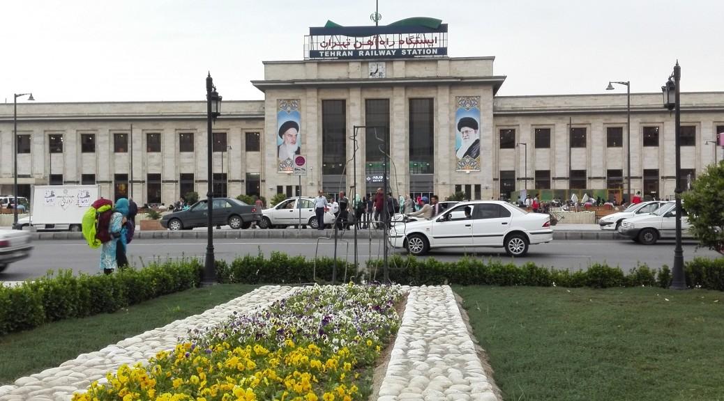 Estació de tren de Teheran
