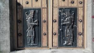 Aquests dissenys son força típics a moltes grans portes