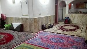 Casa del nostre amfitrió a Kalateh-ye Ali Zeynal. Interior. Sempre catifes