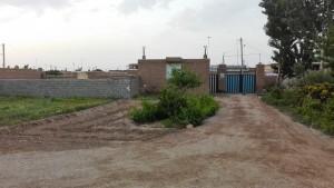 Casa del nostre amfitrió a Kalateh-ye Ali Zeynal. Pati
