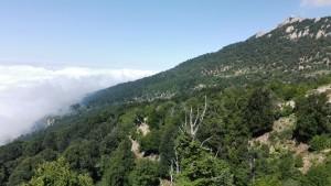 La boira i els núvols volen escalar la muntanya per embolicar-nos, però aquesta vegada som nosaltres els que estem massa alts