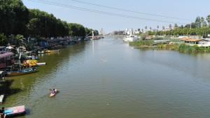 Riu Babolsar al mig de Babolsar