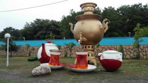 Conjunt homenatge a la gran cultura del te