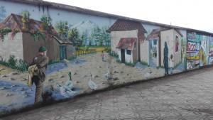 Art de carrer, que sempre son pintades 'oficials'