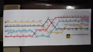 Mapa del metro de Teheran