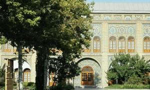 Edifici annex al palau Golestan