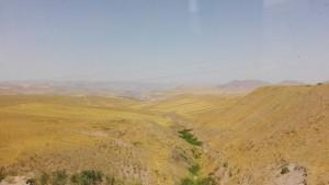 Paisatge al sud de les muntanyes