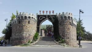 Entrada 'artificial' a Tovuz