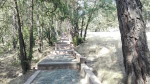 Després de moltes escales, així és el tram final abans d'arribar a Okrokana