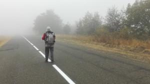Seguim endinsant-nos a través de núvols de densa boira