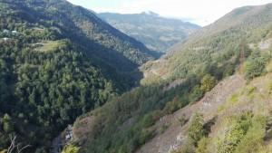 Vistes en sortir de Khulo