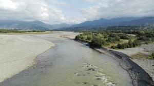 Riu Chorokhi (foto feta l'endemà, sense pluja)