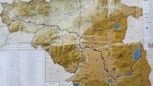 La nostra ruta a Geòrgia. Detall 2 de 3