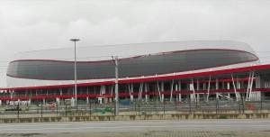 Estadi esportiu a Tekkeköy