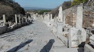Efes, carrer