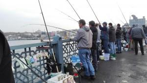 Pescadors al pont Gàlata