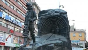 Monument a la mineria del carbó a Zonguldag