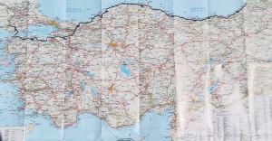 La nostra ruta a Turquia. | Our route through all of Turkey.