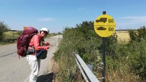 No entenem molt bé aquesta senyal. Si vas amb tanc, no pots passar de 60 km/h????