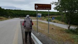 Seguim una ruta històricament molt important, la vía Egnatia