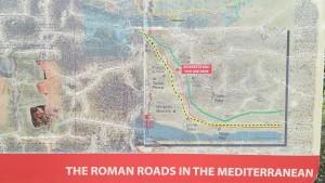 Les rutes romanes a la Mediterrània, detall