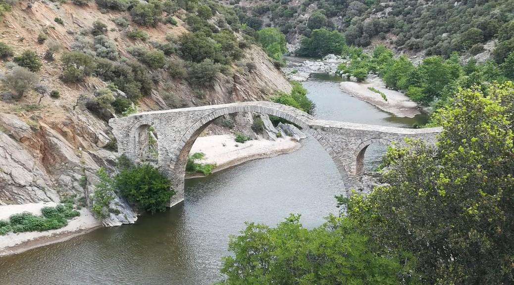 Pont bizantí sobre el riu Kompsatos