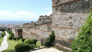 Tessalònica, Muralla Bizantina