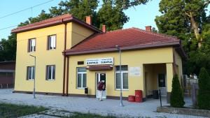 Estació de tren de Demir Kapija