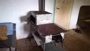 Antiga estufa i cuina