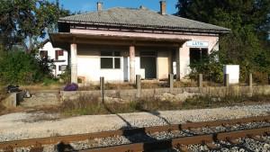 Estació de tren abandonada a Latin (encara estem cercant la de Grec... ja, ja, quin acudit més dolent)